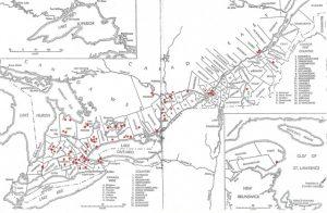 Canada Settlement Map